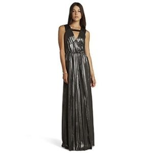 Bcbg generation shimmery gown